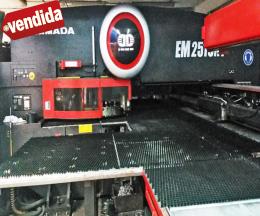 PUNZONADORA eléctrica AMADA Servo-Eléctrica EM2510-MP250
